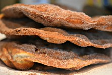 "Cinnamon-Sugar Crisps (""Bunuelos"") Recipe Thumbnail"